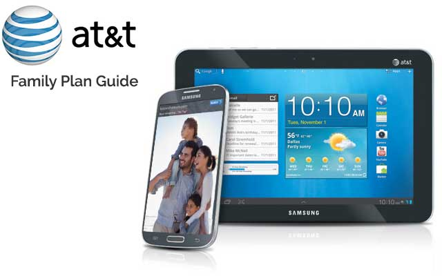 AT&T Family Plan Review of Data and Phones
