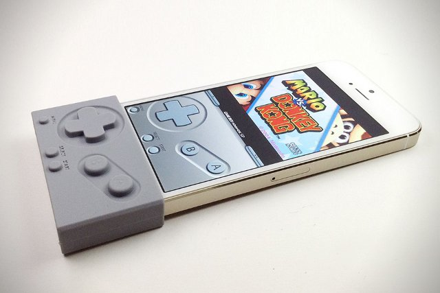 Gameboy iPhone Gamepad Controller for Emulator