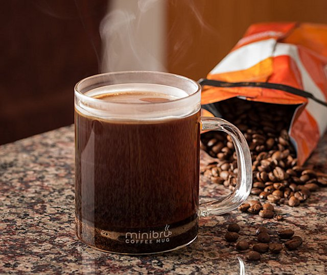 Minibru French Press Coffee Mug