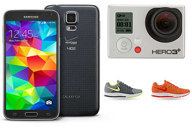 Deals Roundup with Nike, GoPro, Samsung, and Verizon