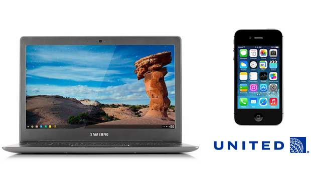 Deals Roundup with Chromebook, iPhone, and United Airlines