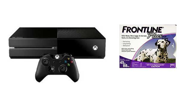 Deals Roundup with Xbox One and Pet Medicine