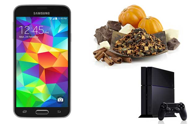 Deals Roundup with Samsung Galaxy S5, cheap Teavana tea and PS4 coupons