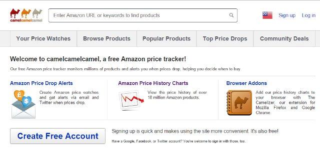 amazon tracking price