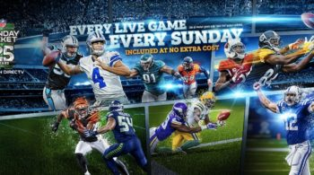 DirecTV NFL Sunday Ticket 2018