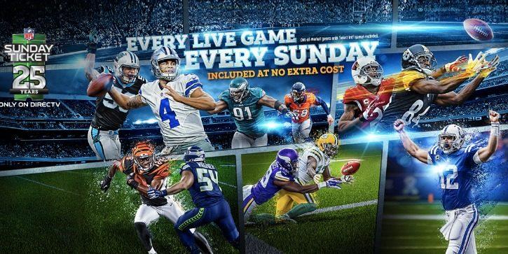 DirecTV NFL Sunday Ticket 2018