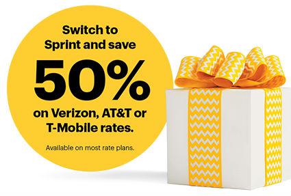 Sprint Save Half