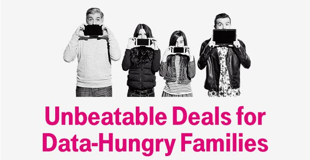 T-Mobile Family Plan with Unlimited Data