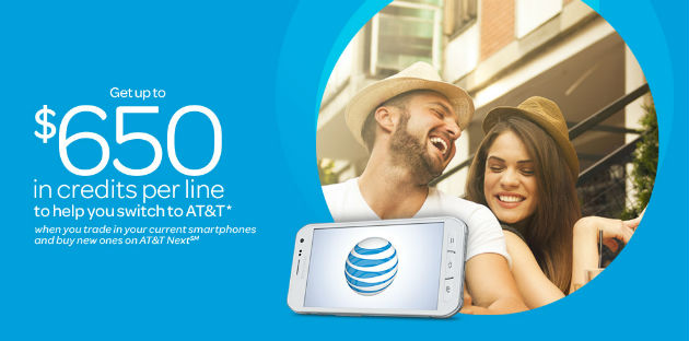 AT&T $650 To Switch
