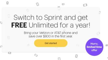 Sprint Free Unlimited Plan