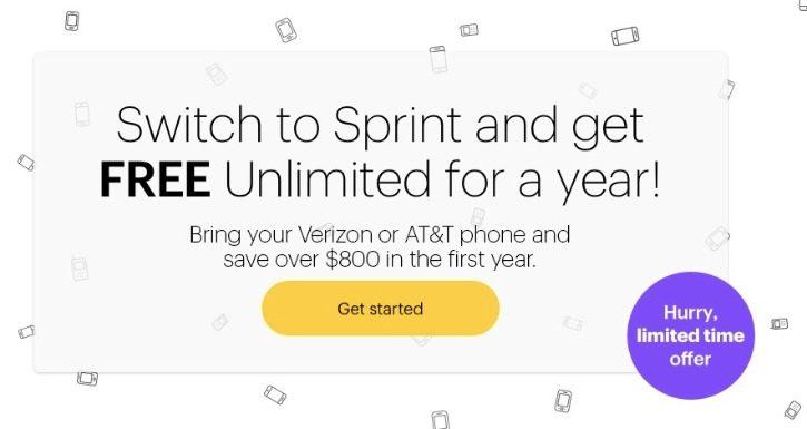 Sprint Free Unlimited Plan