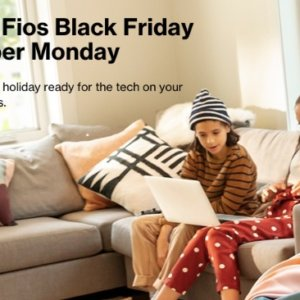 Verizon Fios Black Friday and Cyber Monday Ad
