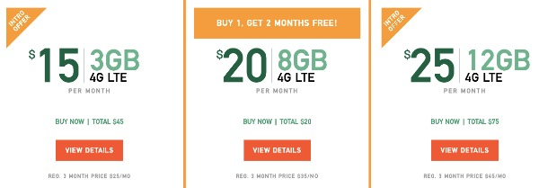Mint Mobile Plan Pricing