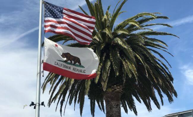 California LLC State Flag